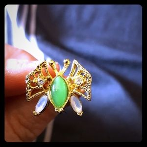 Vintage Avon Butterfly Ring